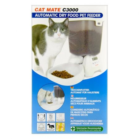 Cat Mate Automatic Dry Pet Food Feeder C3000