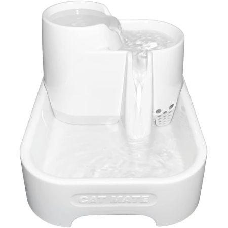 Cat Mate Cat Mate Pet Fountain - White