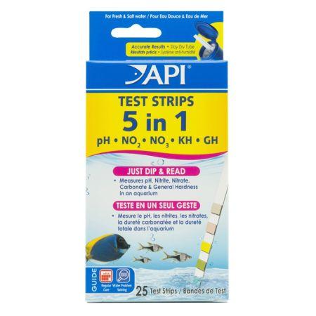API API 5 in 1 Aquarium Test Strips