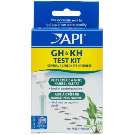 API API Freshwater Hardness GH & KH Test Kit