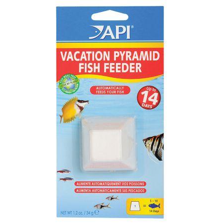 API API 14 Day Vacation Pyramid Fish Feeder