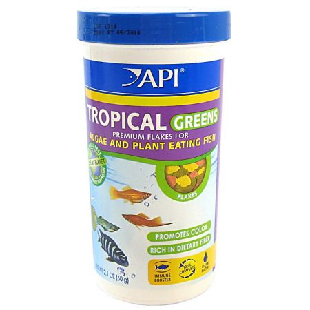 API API Tropical Greens Flake Food