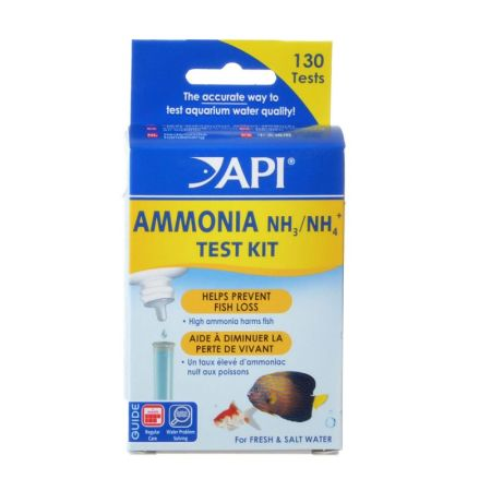 API API Ammonia Test Kit Fresh & Salt Water