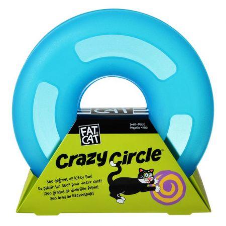 Petmate Crazy Circle Cat Toy - Blue alternate view 2