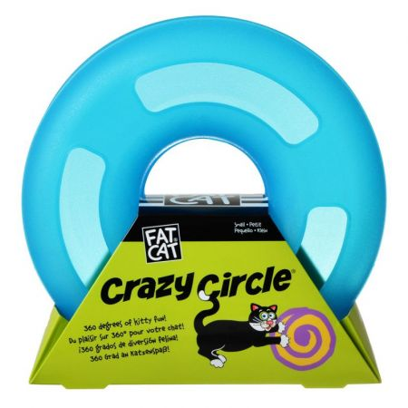 Petmate Petmate Crazy Circle Cat Toy - Blue