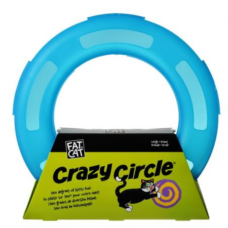 Petmate Crazy Circle Cat Toy - Blue