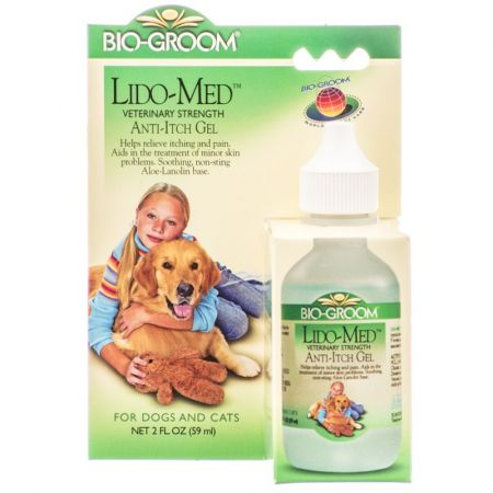 Bio-Groom Bio Groom Lido Med Anti Itch Gel