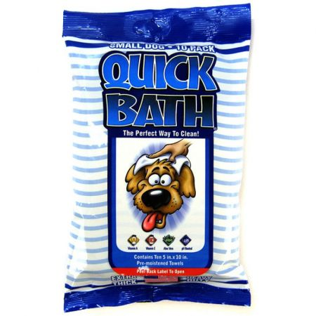 International Veterinary Sciences International Vet Quick Bath Wipes for Dogs