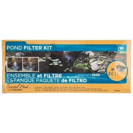 Beckett Beckett Pond Filter Kit