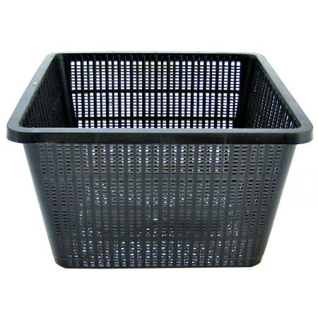 Beckett beckett square plant pond basket plant baskets for Pond filter basket