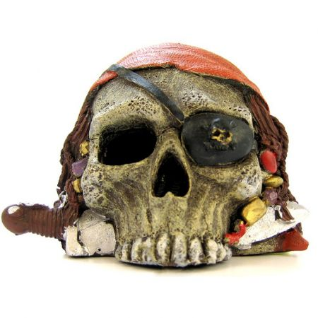 Blue Ribbon Pet Products Blue Ribbon Pirate Skull Ornament