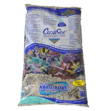 Caribsea CaribSea Arag-Alive Live Aragonite Reef Sand - Indo-Pacific Black