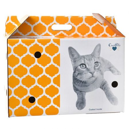 OurPets OurPets Cosmic Catnip Pet Shuttle Cardboard Carrier
