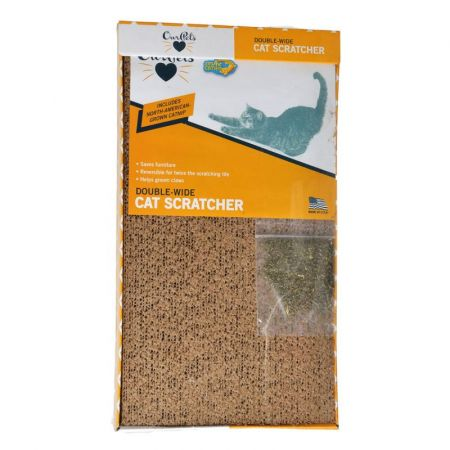 OurPets OurPets Cosmic Catnip Cosmic Double Wide Cardboard Scratching Post