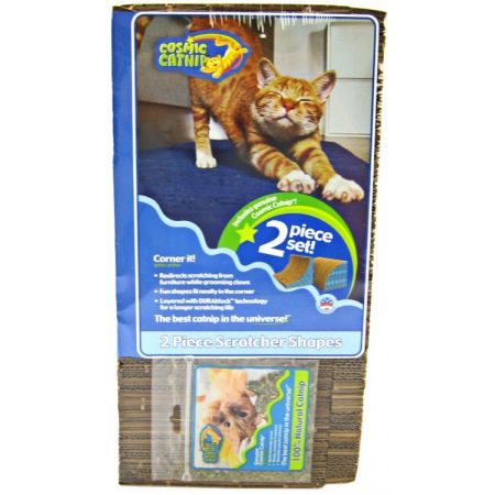 Cosmic Pet Products Cosmic Catnip Corner It Scratcher