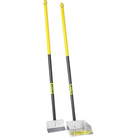 Flexrake Flexrake The Scoop - Poop Scoop & Spade with  Wood Handle
