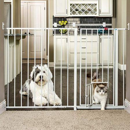 Carlson Pet Gates Carlson Pet Gates Maxi Walk Thru Gate with Pet Door