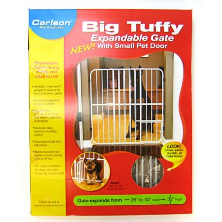 Carlson Pet Gates Carlson Pet Gates Expandable Gate with Small Pet Door