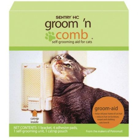 Sentry Sentry Groom N' Comb Self Grooming Aid for Cats