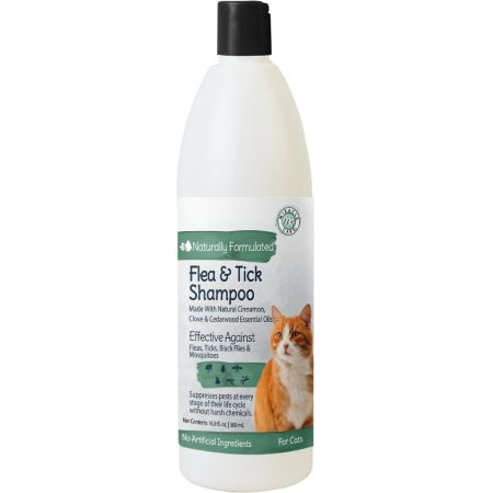 Natural Chemistry Natural Chemistry Natural Flea & Tick Shampoo for Cats