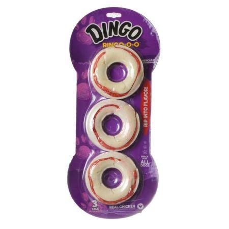 Dingo Dingo Ringo-o-o Meat & Rawhide Chew