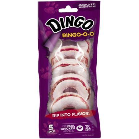 Dingo Ringo-o-o Meat & Rawhide Chew alternate view 2