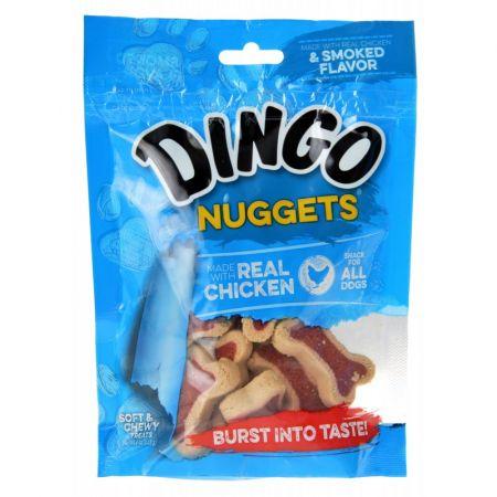 Dingo Dingo Mega Meat Chewy Bones - Chicken Flavor