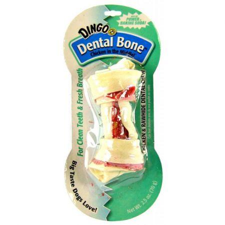 Dingo Dingo Dental Bone Chicken & Rawhide Dental Chew