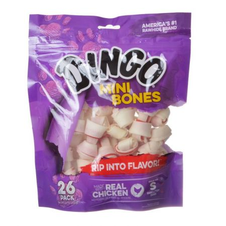 Dingo Meat in the Middle Rawhide Chew Bones alternate view 4