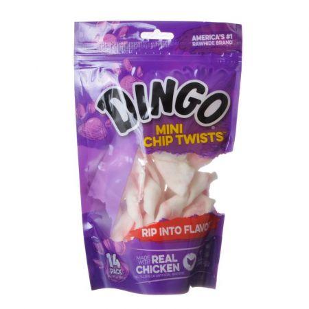 Dingo Chip Twists Meat & Rawhide Chew alternate view 1