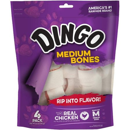 Dingo Meat in the Middle Rawhide Chew Bones alternate view 8