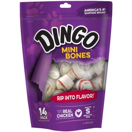 Dingo Meat in the Middle Rawhide Chew Bones alternate view 2