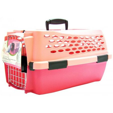 Petmate Small Pink Kennel Cab alternate view 1