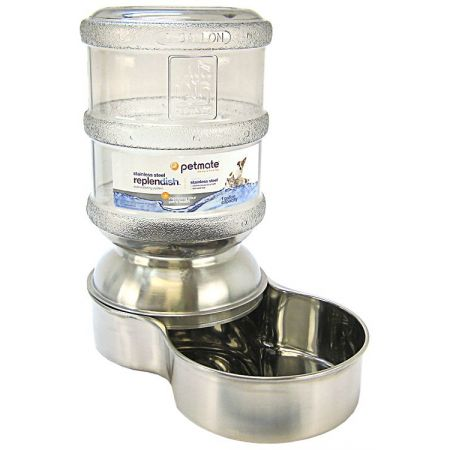 Petmate Petmate Replendish Stainless Steel Waterer
