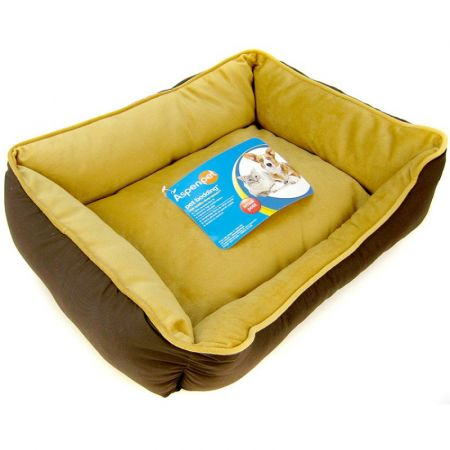 Petmate Petmate Rectangle Pet Lounger with Toy - Assorted