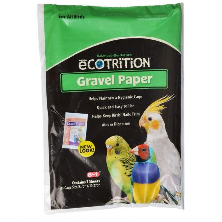 Ecotrition Ecotrition Gravel Paper for All Birds