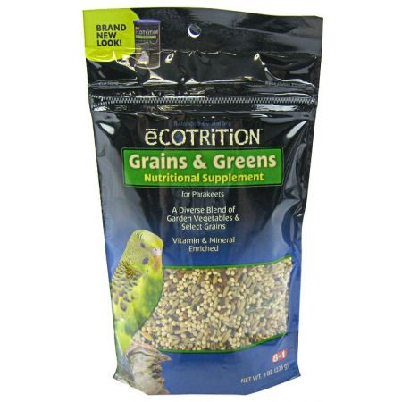Ecotrition Ecotrition Grains & Greens Nutritional Supplement for Parakeets