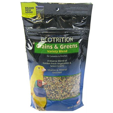 Ecotrition Ecotrition Grains & Greens Variety Blend for Canaries & Finches