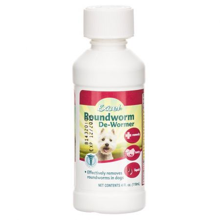 Excel Excel Roundworm De-Wormer Liquid for Dogs