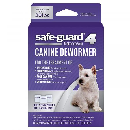 8 in 1 Pet Products 8 in 1 Pet Products Safe-Guard 4 Dog Dewormer