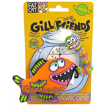 Fat Cat Fat Cat Kitty Hoots Gill Friends Cat Toys - Assorted