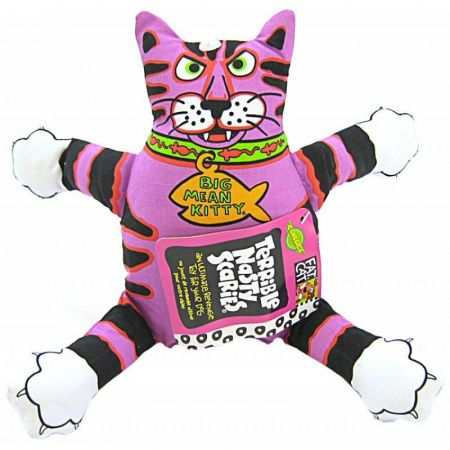 Fat Cat Fat Cat Terrible Nasty Scaries Dog Toy - Assorted