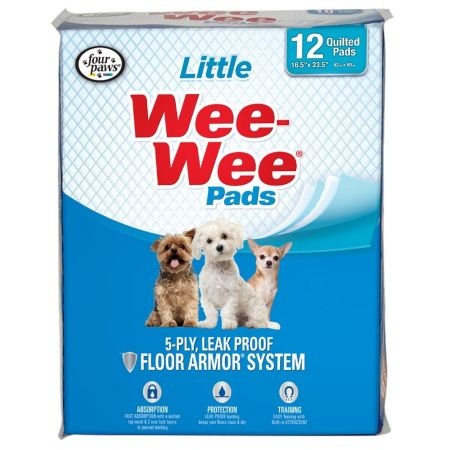Four Paws Four Paws Wee Wee Pads for Little Dogs