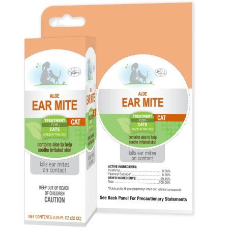 Four Paws Four Paws Ear Mite Remedy for Cats