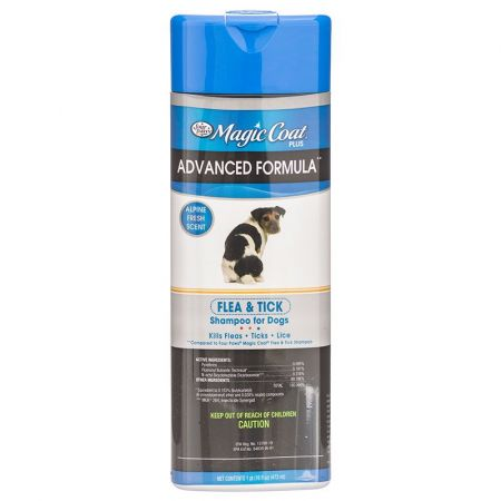 Four Paws Magic Coat Flea & Tick Shampoo Plus