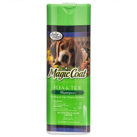 Four Paws Magic Coat Flea & Tick Shampoo