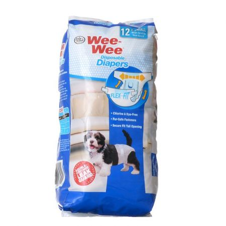 Four Paws Four Paws Wee Wee Diapers for Dogs