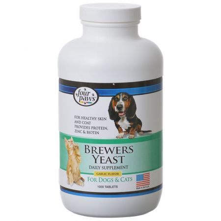 Four Paws Brewers Yeast with Garlic