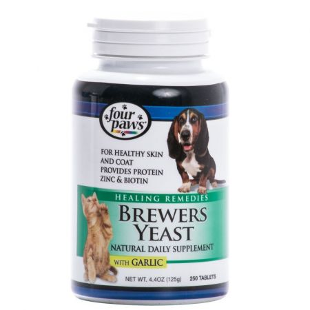 Four Paws Brewers Yeast with Garlic alternate view 1