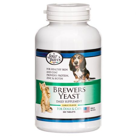 Four Paws Brewers Yeast with Garlic alternate view 2